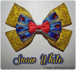 Makeover Snow White Bow