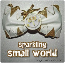 Sparkling Small World Bow