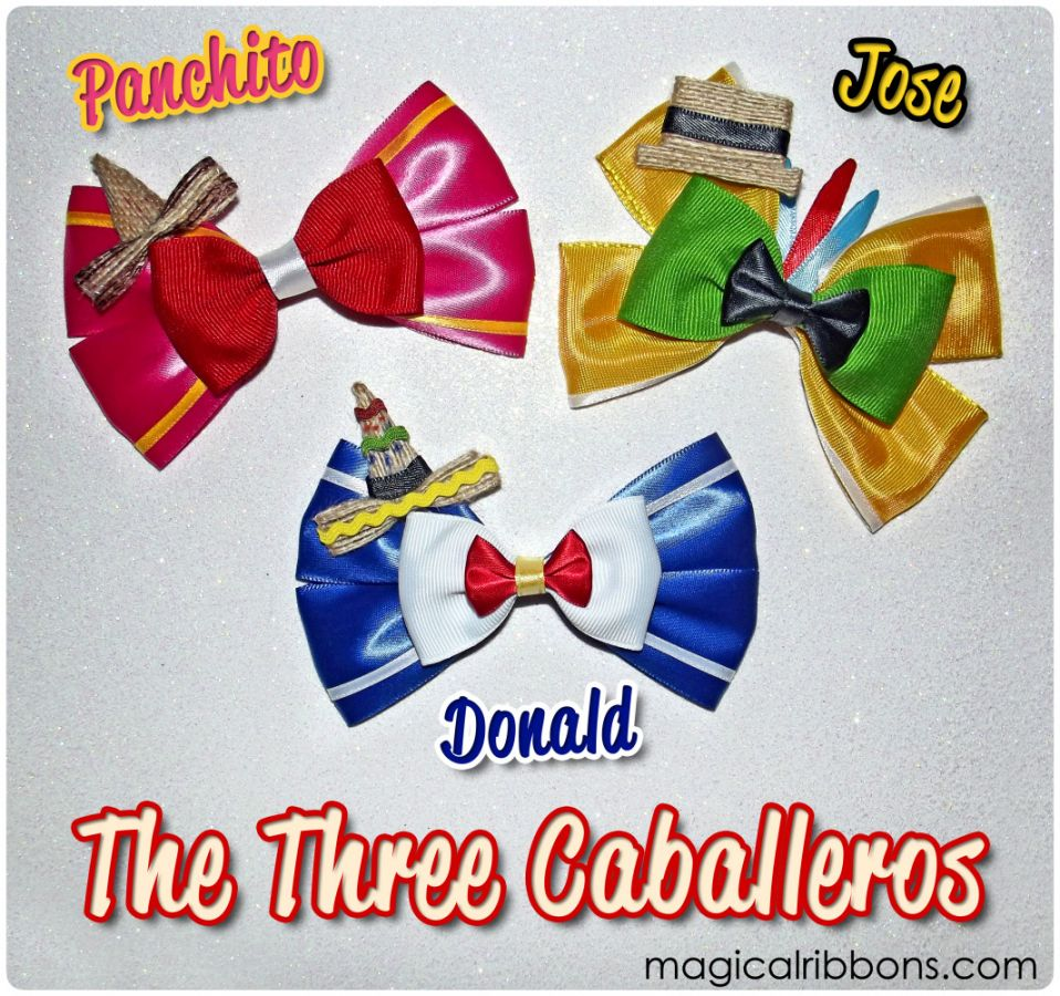 The Three Caballeros Bows