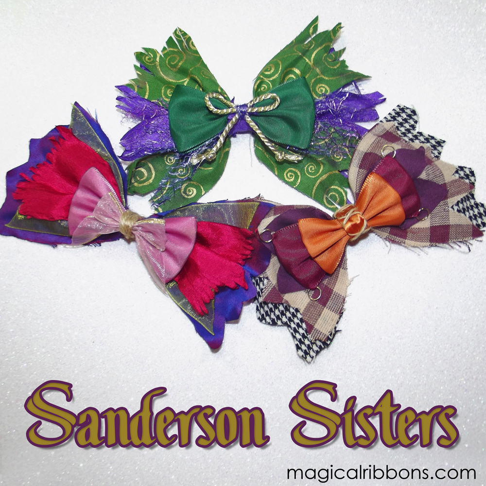 Sanderson Sisters Bows