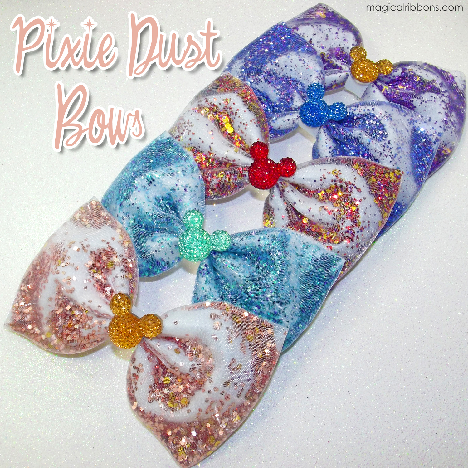 Pixie Dust Bows Magical Ribbons