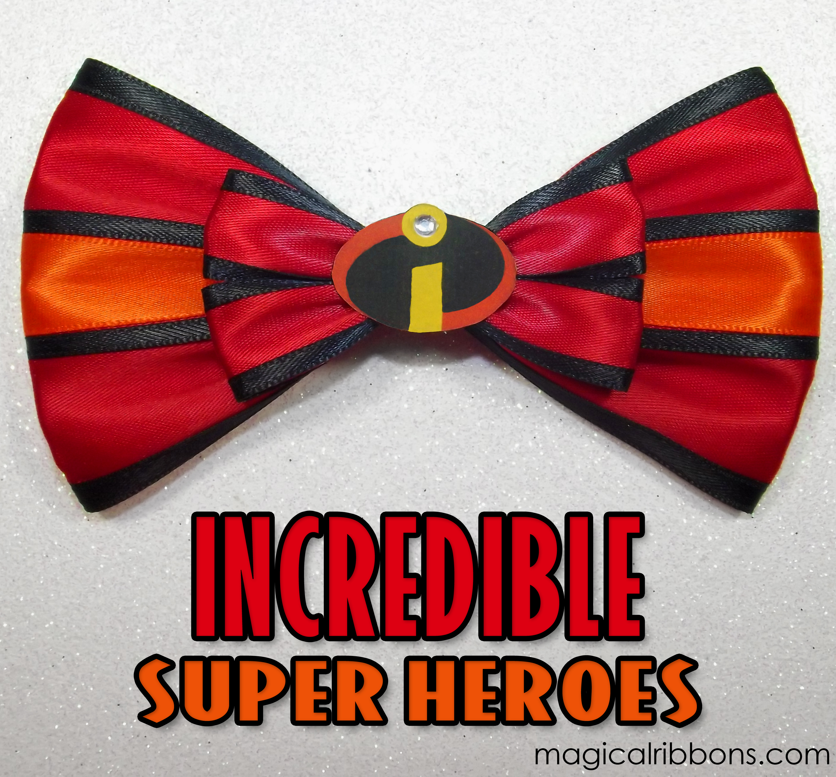Incredible Super Heroes Bow