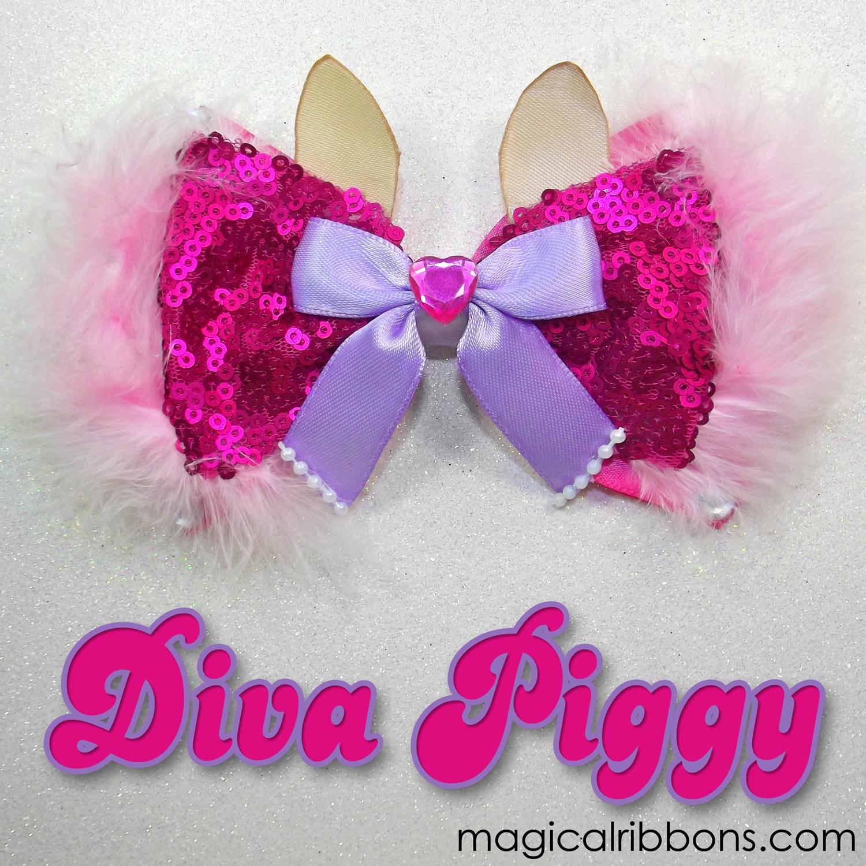 Diva Piggy Bow