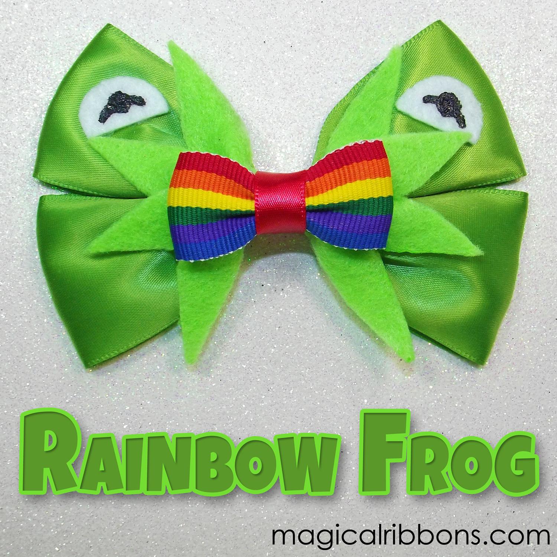 Rainbow Frog Bow